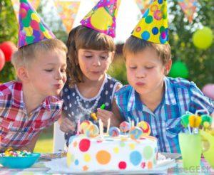 Productos de decoración para fiestas de cumpleaños infantiles